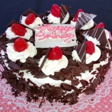 Black Forrest Birthday Cake