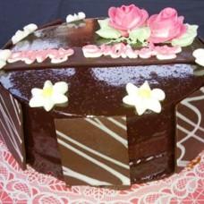 Sacher Birthday Cake