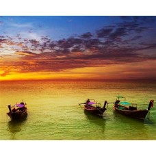 7 Islands Sunset Tour – With BBQ Dinner & Night Snorkelling By Long Tail Boat - FROM KRABI / AO NANG / RAILAY 1.30pm – 8pm