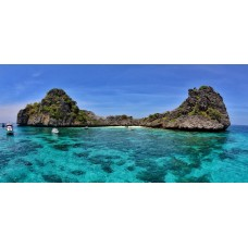Koh Ha and Koh Rok One Day Snorkeling Tour by Speedboat